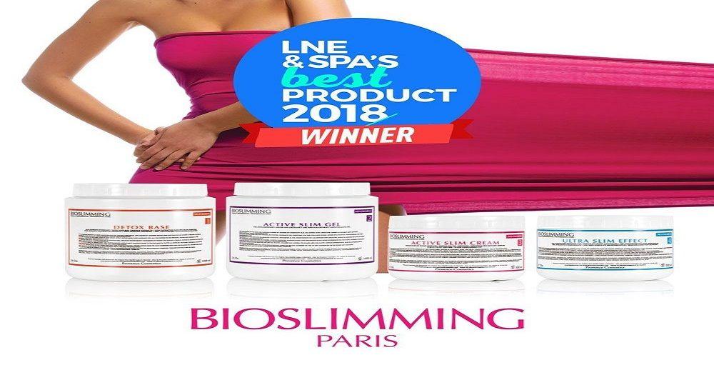 Bioslimming wins LNE & Spa's Best product 2018 Award!